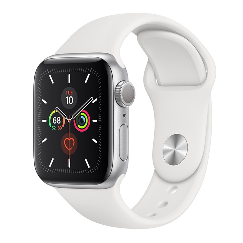 apple-watch-series-5-gps-40mm-silver-aluminum-case-with-sport-band-white