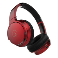 Tai nghe Bluetooth Audio-Technica ATH-AR3BT (Đỏ)