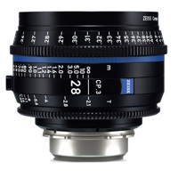 Ống Kính ZEISS Compact Prime  CP.3 28mm T2.1 (PL Mount, Meters)