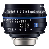 Ống Kính ZEISS Compact Prime CP.3 50mm T2.1 (PL Mount, Meters)