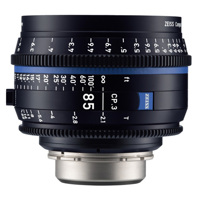 Ống Kính ZEISS Compact Prime CP.3 85mm T2.1 (PL Mount, Meters)