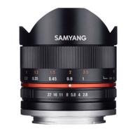 Ống kính Samyang 8mm f/2.8 UMC Fisheye for Sony Nex