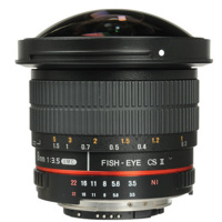 Ống Kính Samyang 8mm F/3.5 UMC FISHEYE CSII for Nikon