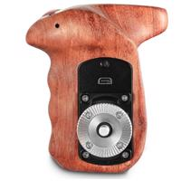 SmallRig Right Side Wooden Hand Grip With Record Start/Stop Remote Trigger For Sony Mirrorless Cameras 2227