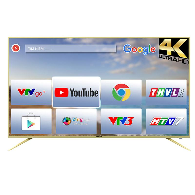 Tivi Asanzo 50AU6100 (Smart TV,4K,  50 inch )