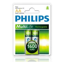 Pin Sạc Philips AA 1600 MAH (R6B2A160/97)